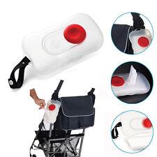 Baby-Bequem tragbare Feuchttücher Boxen Wagen Pram Außeneinsatz Transparent Box