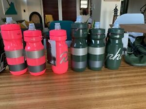 Rapha Bidon Water Bottles - 6 pack! Pink and OD Green, Hi-Viz and Regular