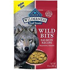 Blue Buffalo Wilderness Trail Treats Wild Bits High Protein Grain Free