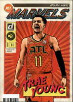 2019-20 Donruss NBA Net Marvels #16 Trae Young Atlanta Hawks  Official Panini Ba