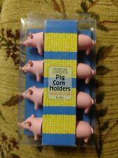 Charcoal Companion Pig Corn Holders, 4 Pairs