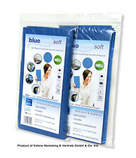 BlueWish soft Pflegetuch 2 x antibakteriell mit Silber. BlueWish®soft extra soft