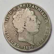 1820 CROWN  GEORGE  III  #290-3
