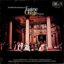 SLS 951/3 Tchaikovsky- Eugene Onegin 3-LP BOX Vishnevskaya Rostropovich/Bolshoi