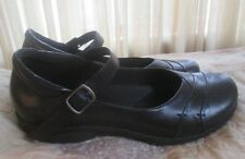 "EARTH ORIGINS ""Britney"" Black Leather Mary Janes Shoes Wo's Sz 11 - EXCEL"