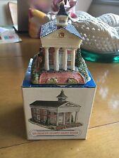 "Harmony Grove 1992 Miniature Village ""Brunswick County Courthouse"""