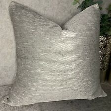 "Zambezi Sofa & Bed Cushion Cover Furnishing Grey JOHN LEWIS Fabric 26"" x 26"""
