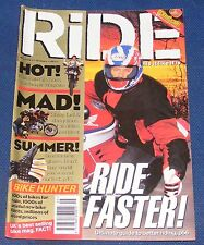 RIDE MAGAZINE MAY 1996 - RIDE FASTER!