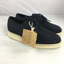 Dr Martens Mens Torriano suede oxford shoes size 7 blue leather