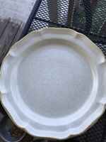"Mikasa Country Charm 12"" Round Serving Platter Chop Plate  FG000"