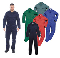 Portwest Euro Work Polycotton Coverall Overall Welder Mechanic Boiler Suit S999