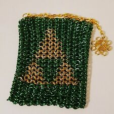 Zelda Triforce Chainmail Bag