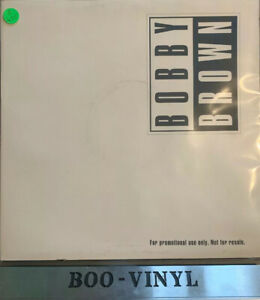 """BOBBY BROWN -THATS THE WAY LOVE IS -12"""" PROMO DOUBLE HOUSE HIP HOP VINYL RECORD"""