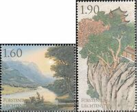Liechtenstein 1553A-1554A (kompl.Ausg.) postfrisch 2010 EXPO