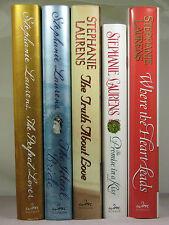 1sts, Cynster Series Bks 10,11,12,Xmas 1,Casebook BA 1 by Stephanie Laurens, HBs