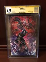 THANOS #15 VIRGIN VARIANT CGC 9.8 SS SIGNED DONNY CATES