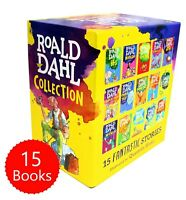 Roald Dahl Phizz Whizzing 15 Book Collection Gift Box Set