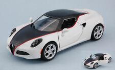 Motormax - ALFA ROMEO 4c 2014 Matt White 1 24