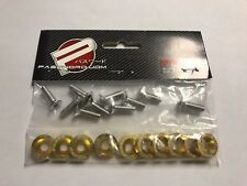 Password JDM Fender Washers(Light Gold)10 pieces Bumper Washer Fast USA Shipping