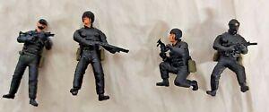Dragon: 1:35 U.S. Elite Forces Seal Team. Built Model 4 Figure Set