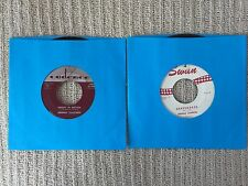 """Lot: 2 45s - Freddie Cannon""""Okefenokee"""" Johnny Tillotson """"Poetry In Motion"""" VG+"""