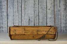 Vintage baby cradle / Wooden children's crib / Hanging baby cradle/ Rustic decor