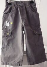 Orchestra baby pantalon fin à petits carreaux gris motif lapin garçon 12 mois