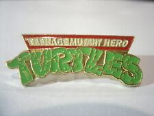 TEENAGE MUTANT (HERO) NINJA TURTLES (TMNT) Metal Pin-Badge Mirage Classic1990