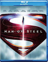 Man of Steel (Blu-ray Disc, 2013) Superman Henry Cavill.  BRAND NEW NO SLIPCOVER