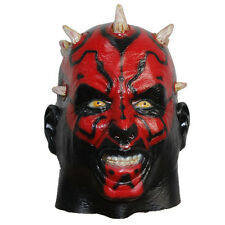 Darth Maul Latex mask Star Wars movie cosplay Costume Halloween Party prop new