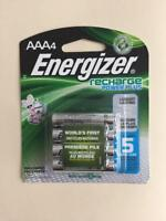 Energizer Aaa PowerPlus 4 Pack Rechargeable  Batteries