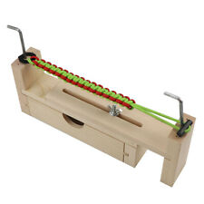 Knitting Tool Woven Wooden Frame Survival DIY Paracord Jig Bracelet Making