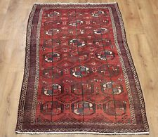 OLD WOOL HAND MADE ORIENTAL FLORAL RUNNER AREA RUG CARPET 173 X 90CM