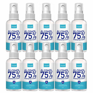10x Hände Desinfektionsspray Desinfektionsmittel 100ml HygieneSpray  Bakterien
