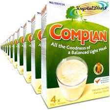 12x Complan Vanilla Nutrition Vitamin Supplement Protein Energy Drink 4x55g