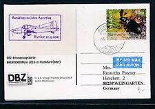 79067) Landwirtschaft 100 J.Agrarflug Kyritz 21.5.2011, Karte ab Island SPA