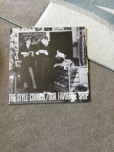 THE STYLE COUNCIL OUR FAVOURITE SHOP 12 INCH VINYL .