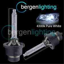 D4S WHITE XENON HID LIGHT BULBS HEADLIGHT HEADLAMP 4300K 35W FACTORY OEM FITTED