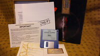 Vintage 1990 LHX Attack Chopper IBM Game From EA, IBM 3 1/2 Compatible
