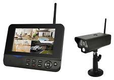 Comag SecCam11 Videoüberwachung Funk-�œberwachungssystem mit 1 Kamera IP54 System