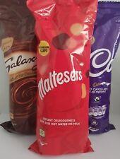 Maltesers,Cadbury,& Galaxy Instantané Coupe Boissons 7 par Paquet Chocolat Chaud