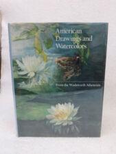 Judith A. Barter  AMERICAN DRAWINGS AND WATERCOLORS Hudson Hills Press  c. 1987