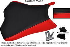 RED & BLACK CUSTOM 09-12 FITS KAWASAKI NINJA ZX6R ZX6  600 LEATHER SEAT COVER