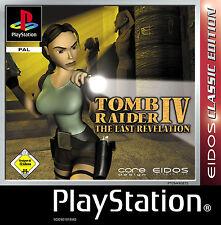 PS 1 | Tomb Raider IV: the Last Revelation | Incl. SCATOLA ORIGINALE | molto bene