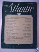 ATLANTIC Magazine June 1946 JAMES BRANT CONANT GUY NUNN
