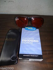 Solar Shield Fits over sunglasses -block 100% UVA/UVB sunlight