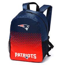 NFL American Football League New England Patriots FADE Scuola Zaino Regalo di Natale