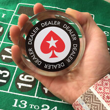 Stupendous Big Acrylic Poker Dealer Button Guard Card Protector Original stars
