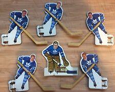 1963 Eagle Toys Table Hockey Players - Toronto Maple Leafs
