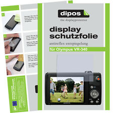 2x Olympus VR-340 screen protector protection guard anti glare